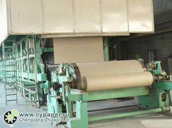 оборудование производства картона из макулатуры