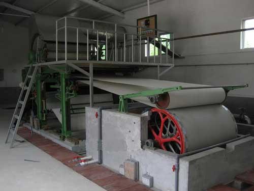 Оборудование для производства туалетной бумаги из макулатуры ID93