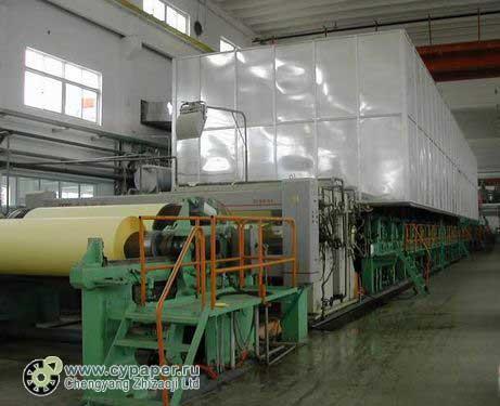 оборудование для производства оберточной крафтбумаги